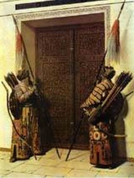 The doors of tamerlane 1872 1873 xx the tretyakov gallery moscow russia
